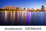 orlando  florida cityscape... | Shutterstock . vector #530586343