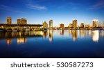 st. petersburg  florida skyline ... | Shutterstock . vector #530587273