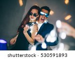 couple having fun at the club.... | Shutterstock . vector #530591893