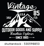 mountain explorer  outdoor... | Shutterstock .eps vector #530598853
