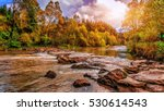 fantastic colorful view on the... | Shutterstock . vector #530614543