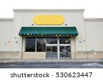 storefront grand opening with... | Shutterstock . vector #530623447