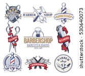collection badges  logos with... | Shutterstock .eps vector #530640073