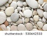White Pebbles Background ...
