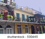 new orleans french quarters...   Shutterstock . vector #530645