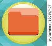 line folder icon
