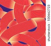 seamless op art vector pattern. ... | Shutterstock .eps vector #530662723