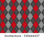 gray argyle seamless pattern....   Shutterstock .eps vector #530666437