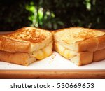 grilled cheese sandwich | Shutterstock . vector #530669653