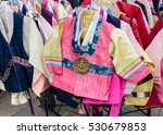 Tradtional Korean Hanbok...