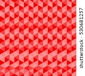red triangles seamless vector... | Shutterstock .eps vector #530681257