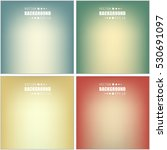 abstract creative concept... | Shutterstock .eps vector #530691097