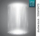 ufo light beam isolated on...   Shutterstock .eps vector #530693473