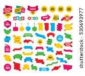 web stickers  banners and... | Shutterstock .eps vector #530693977