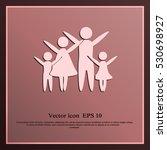 family vector icon | Shutterstock .eps vector #530698927