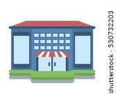 store building shop isolated... | Shutterstock .eps vector #530732203