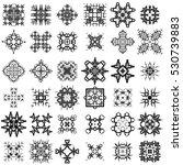 set of different tribal... | Shutterstock . vector #530739883