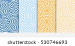 set of modern geometric... | Shutterstock .eps vector #530746693