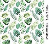 watercolor seamless pattern...   Shutterstock . vector #530754853