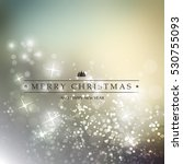 colorful happy holidays  merry... | Shutterstock .eps vector #530755093