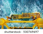 well head slot from ground to...   Shutterstock . vector #530769697