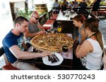 porec  croatia   july  2016  ... | Shutterstock . vector #530770243