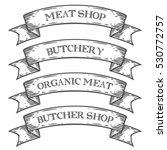 meat shop market butchery... | Shutterstock . vector #530772757