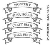 craft beer brewery shop market... | Shutterstock . vector #530772793