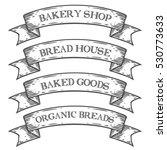 bakery bake shop market emblem... | Shutterstock . vector #530773633