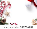 christmas decorations and...   Shutterstock . vector #530786737