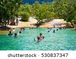 krabi  thailand   october 15 ...   Shutterstock . vector #530837347