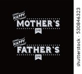 mother father day theme label | Shutterstock . vector #530846323