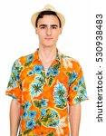 studio shot of young handsome... | Shutterstock . vector #530938483