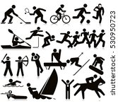 sports activities travel icon... | Shutterstock .eps vector #530950723