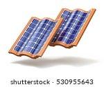 Solar Roof Tiles Concept   3d...
