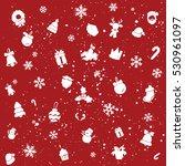christmas pattern | Shutterstock .eps vector #530961097