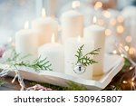 White Candles  Jingle Bells An...