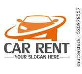 car rent logo design template | Shutterstock .eps vector #530978557