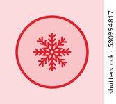 snowflake icon | Shutterstock .eps vector #530994817