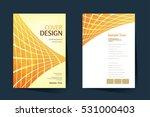 brochure design vector template ... | Shutterstock .eps vector #531000403
