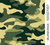 camouflage pattern background.... | Shutterstock .eps vector #531027337