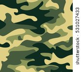 camouflage pattern background.... | Shutterstock .eps vector #531027433