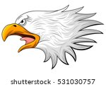 eagle head mascot | Shutterstock . vector #531030757