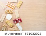 collection of beans candies and ... | Shutterstock . vector #531032023