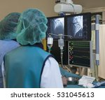 artery heart surgery hospital | Shutterstock . vector #531045613