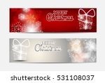 christmas snowflakes website... | Shutterstock .eps vector #531108037