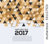 creative geometric design for... | Shutterstock .eps vector #531117523