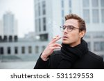 Cool Business Man In Glasses...