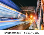bridge vistula river promenade...   Shutterstock . vector #531140107