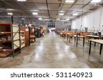 interior of factory with empty...   Shutterstock . vector #531140923